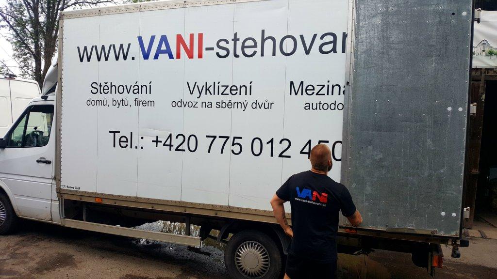 Stěhování Praha 3