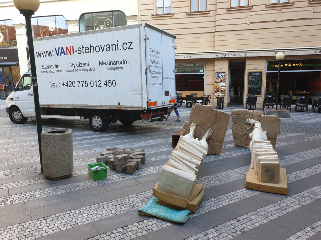 stěhování Praha 4