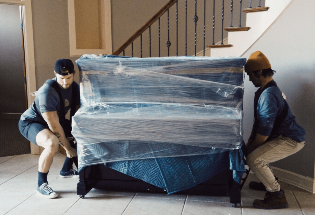 stěhování piano